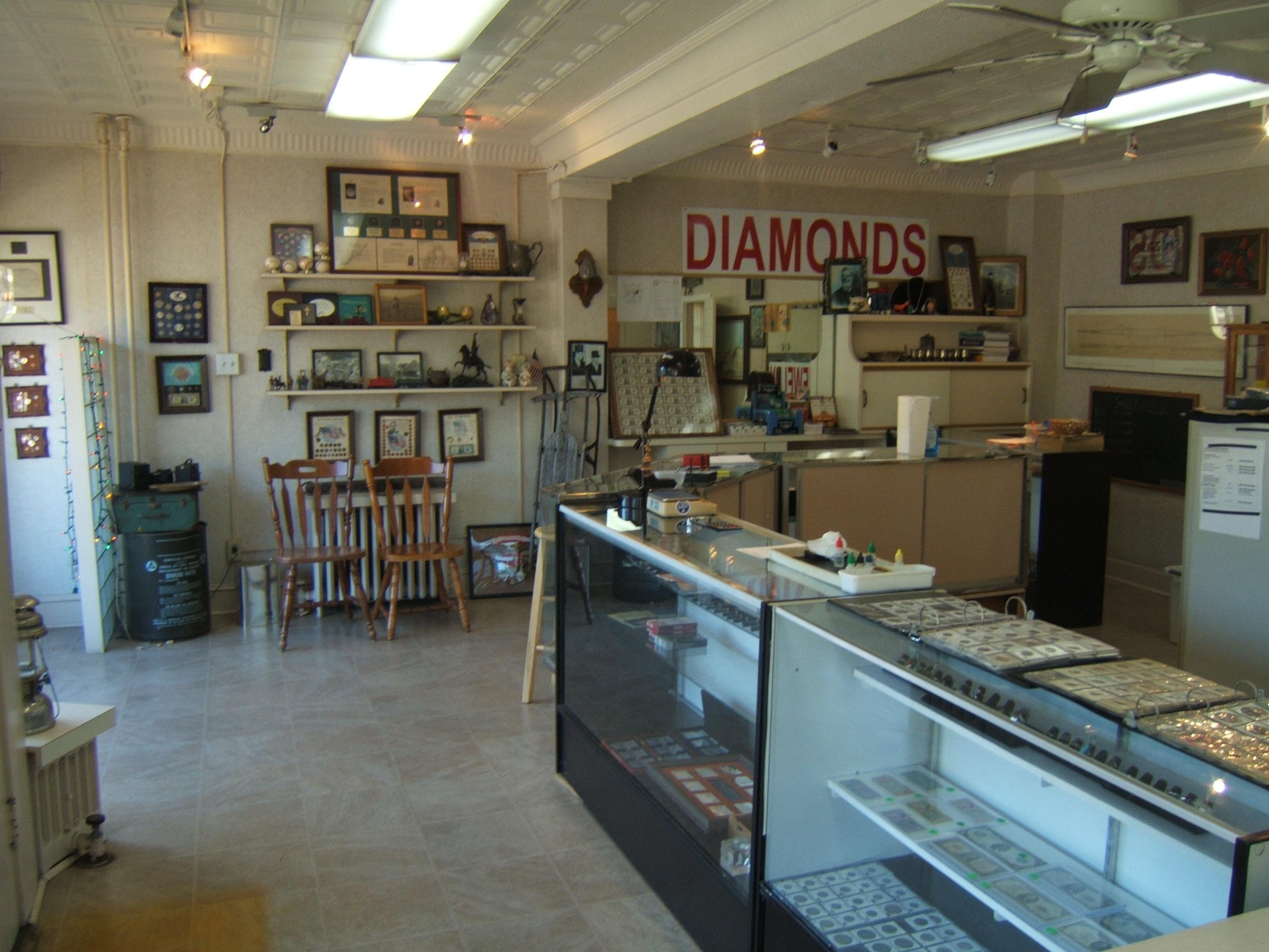 Shop Interior at Counter||||