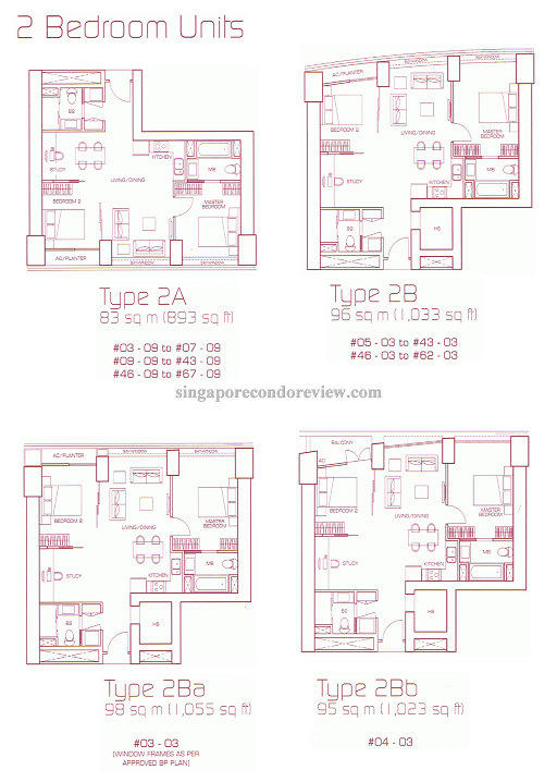 floorplan stack 9, 2bedroom 893 sqft
