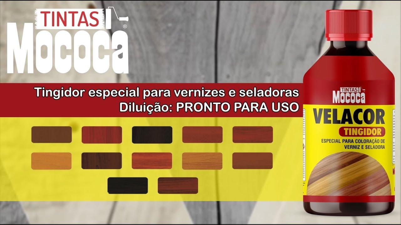 TINGIDOR ESPECIAL PARA VERNIZES E SELADORAS