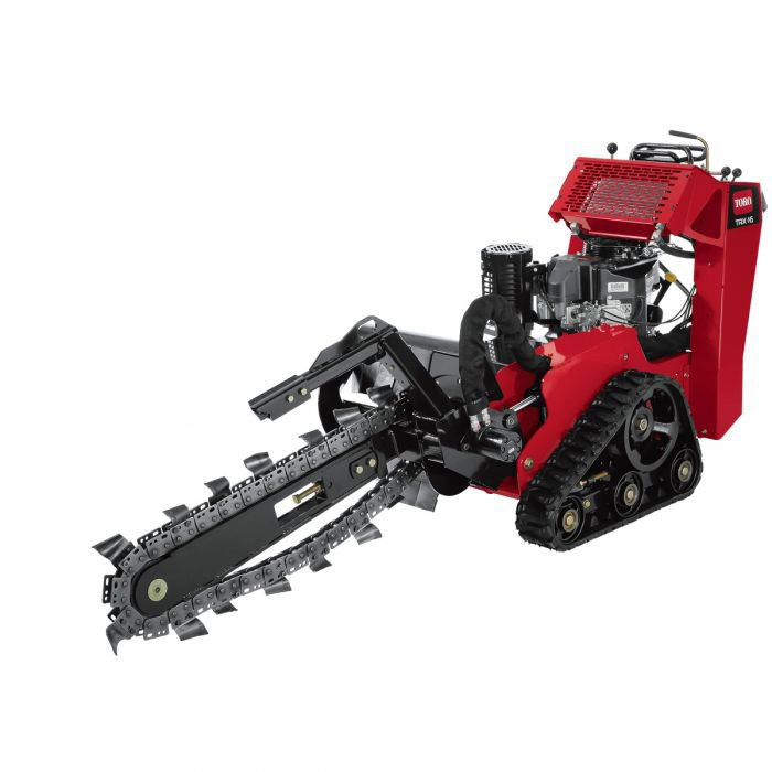 "Toro 36"" Deep Trencher $135/day $405/week $1215/month w/ trailer 2"" Ball"