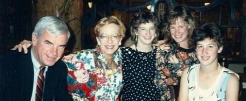 Elizabeth's graduation - 1986