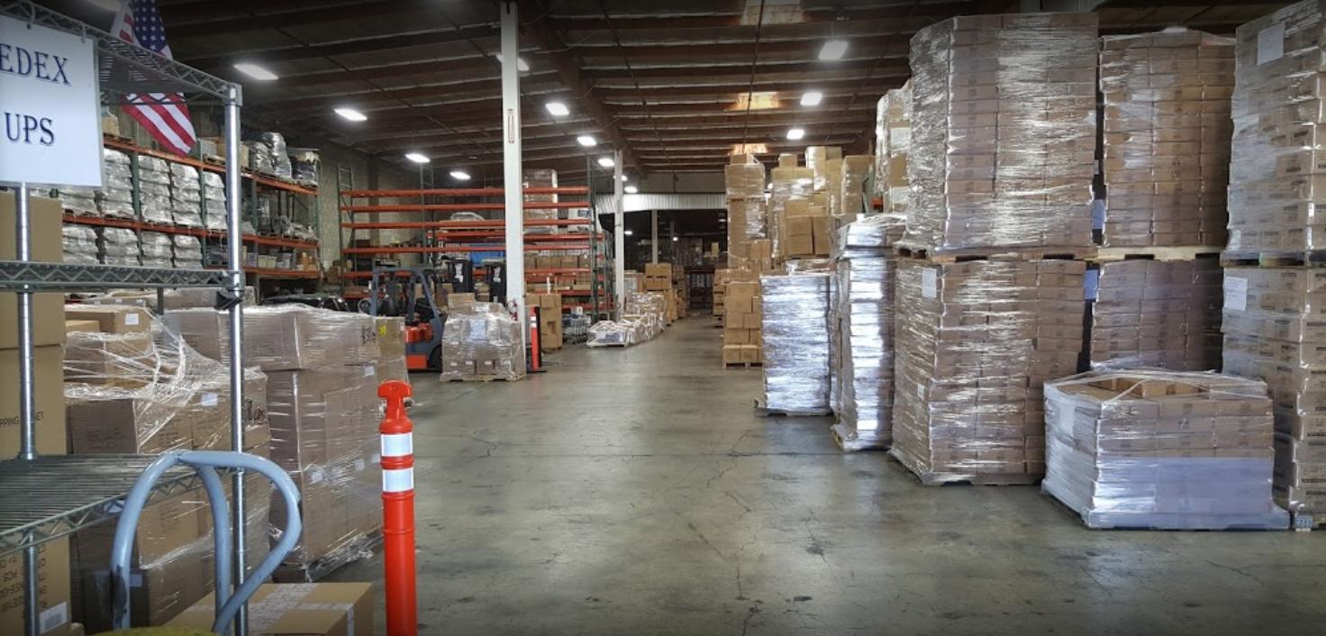 Warehouse Facility Exterior 1
