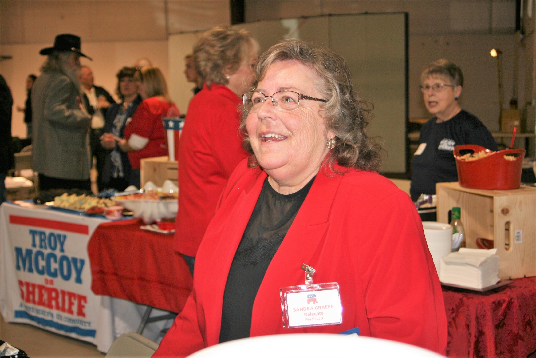 Coroner Candidate Sandy Graef