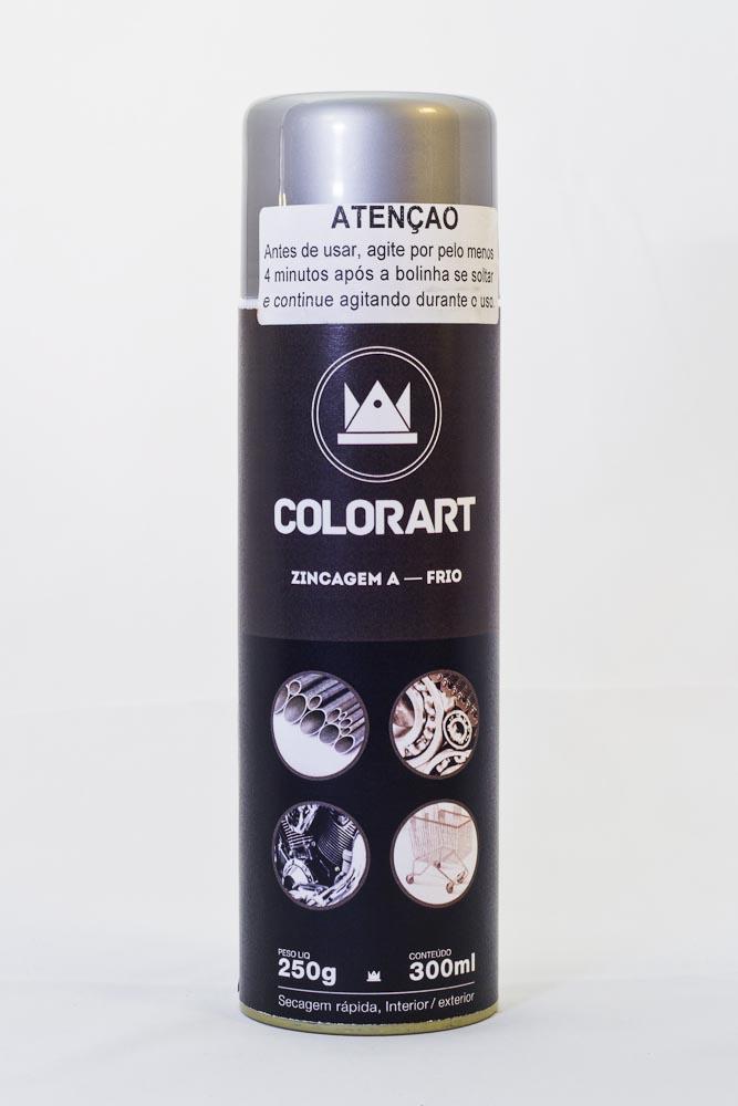 Spray Zincagem à Frio Secagem Rápida, Interior/Exterior