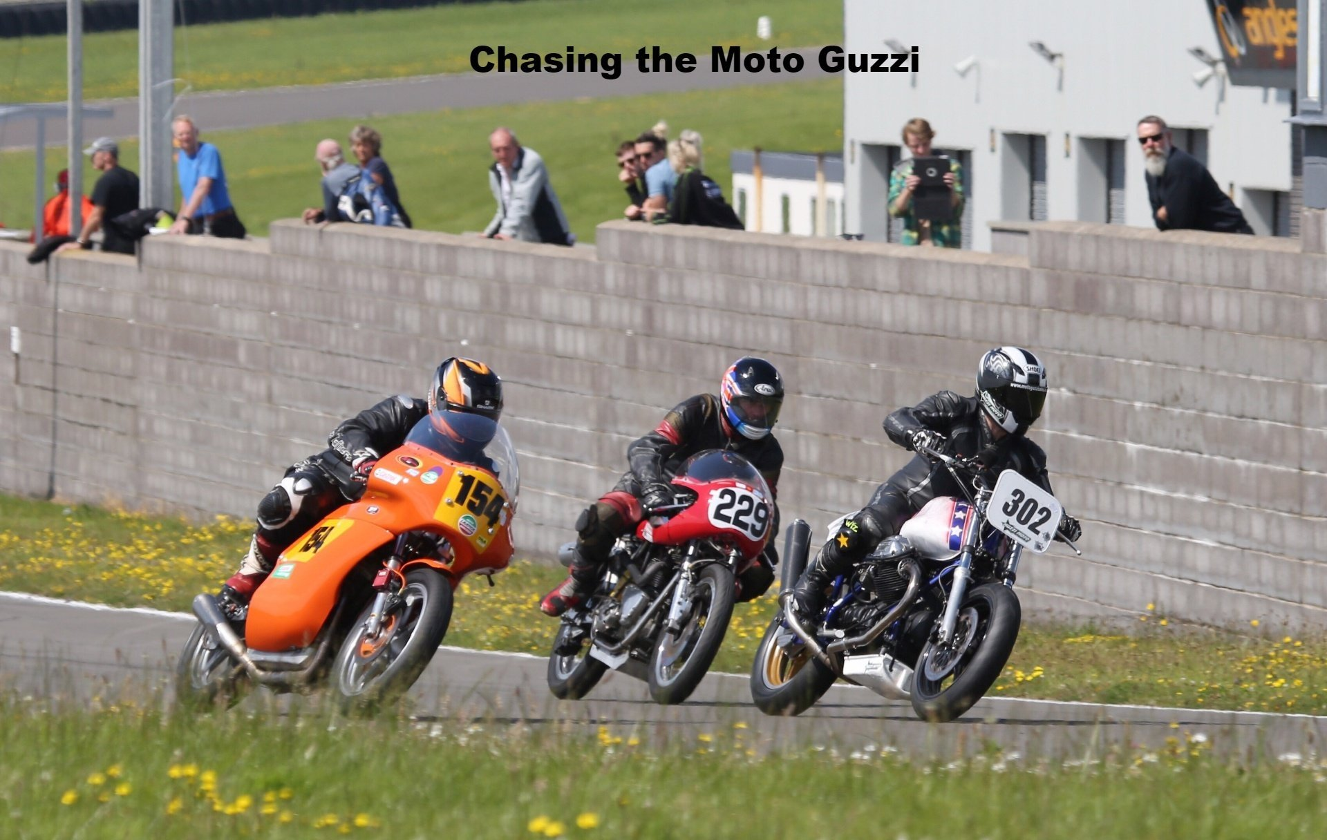 Chasing the Guzzi Le Mans