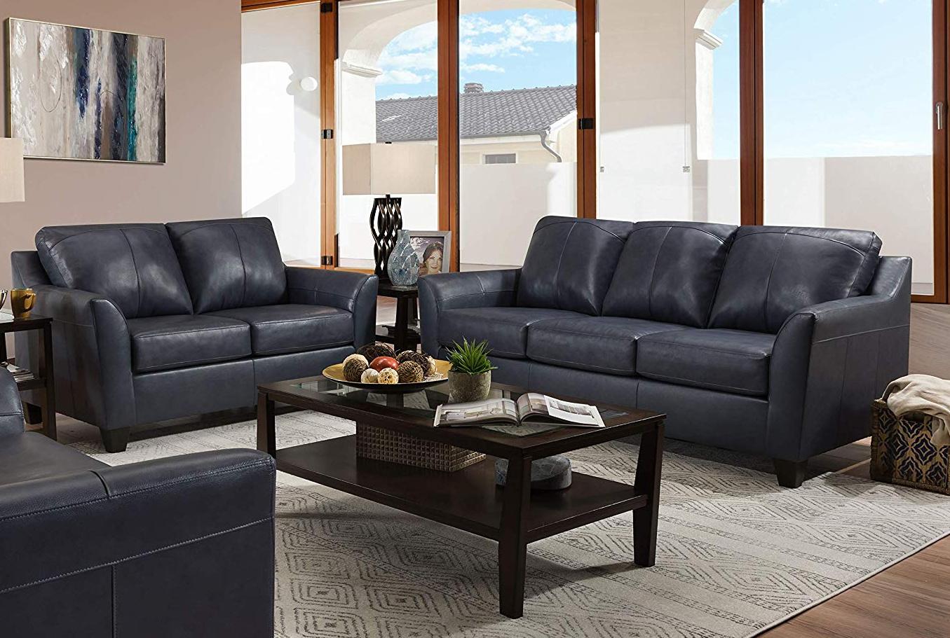 Lane 12029 Shale Sofa Set