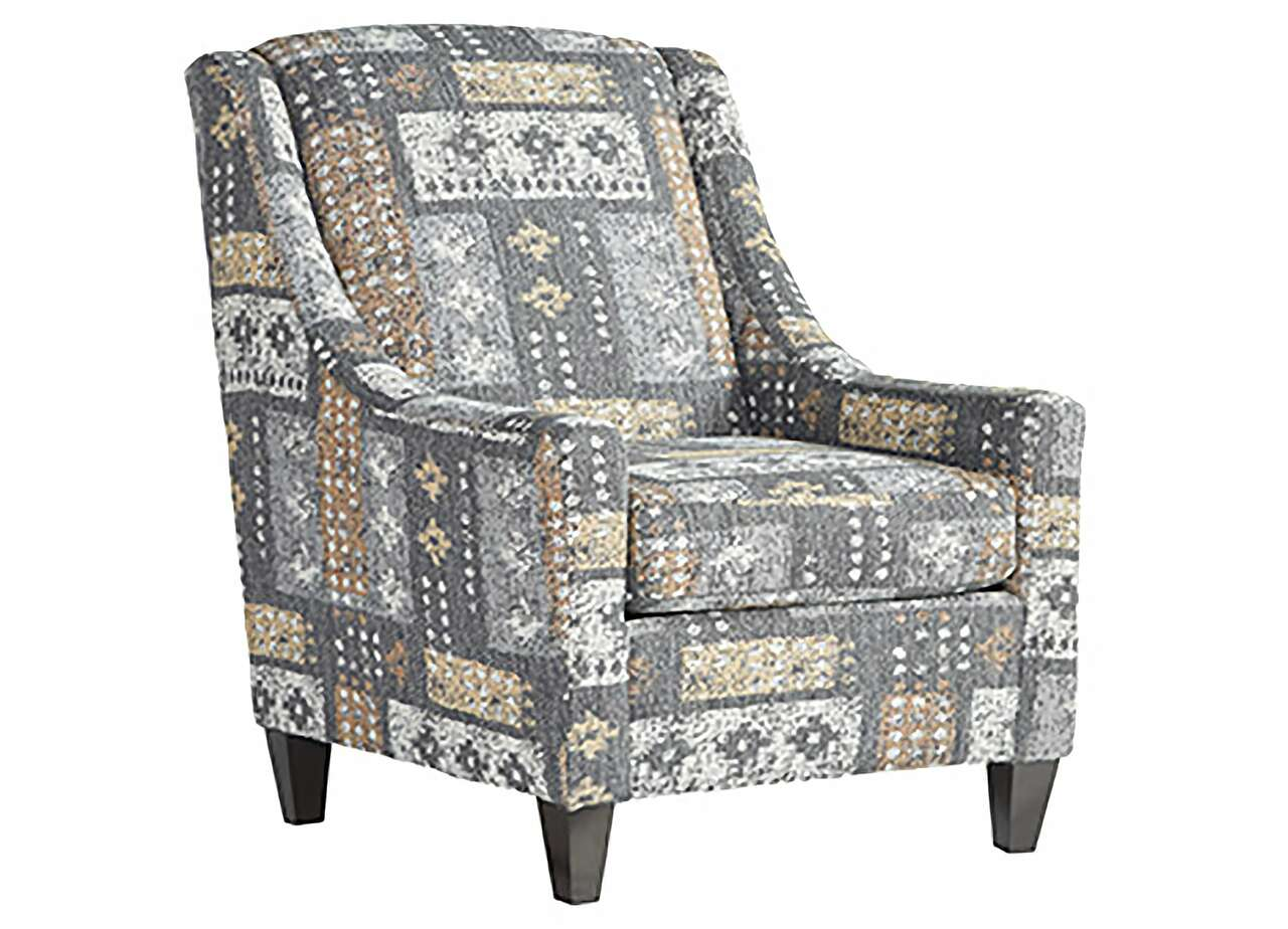 Tupper Flannel Accent Chair