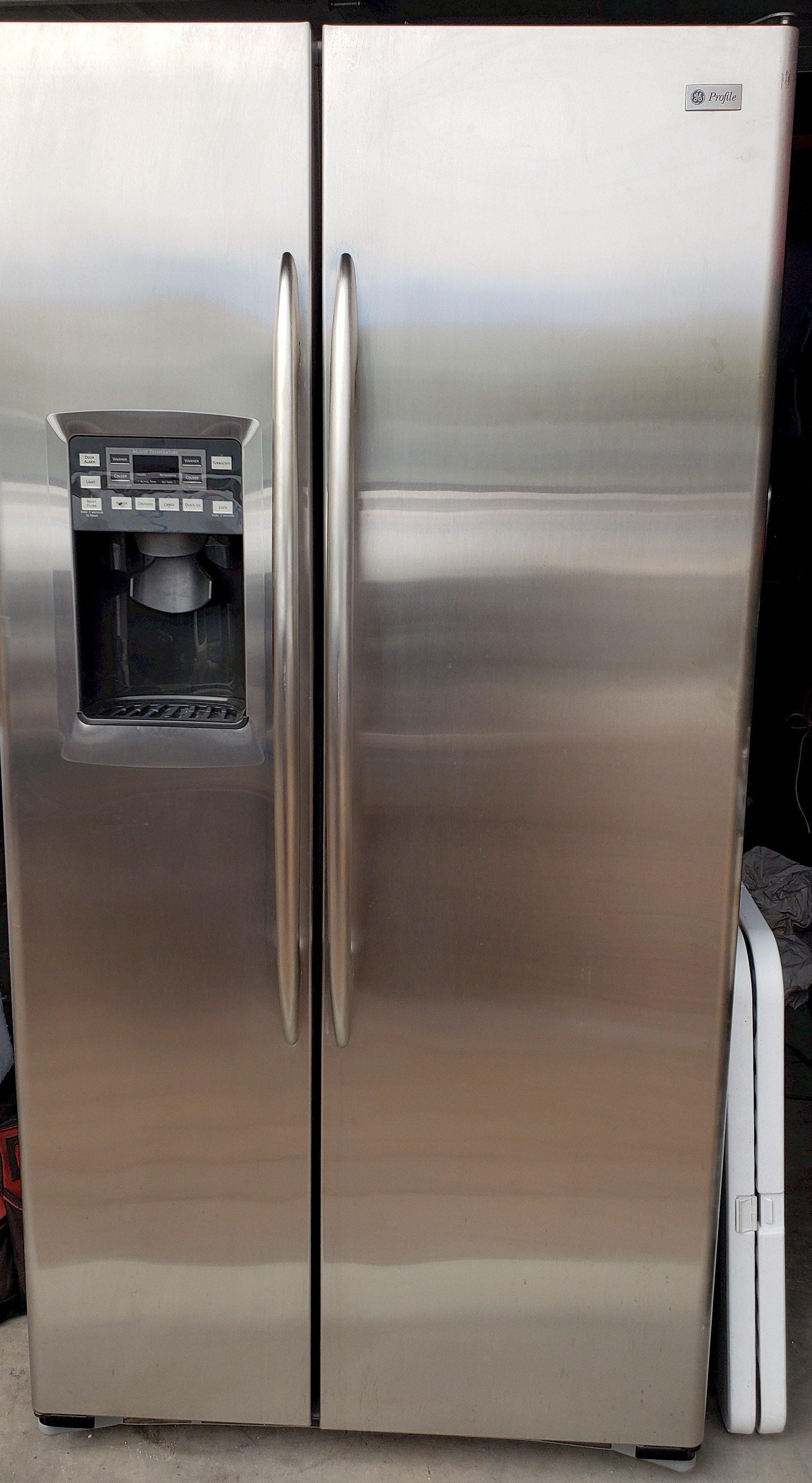3 Stainless Steel  Refrigerator