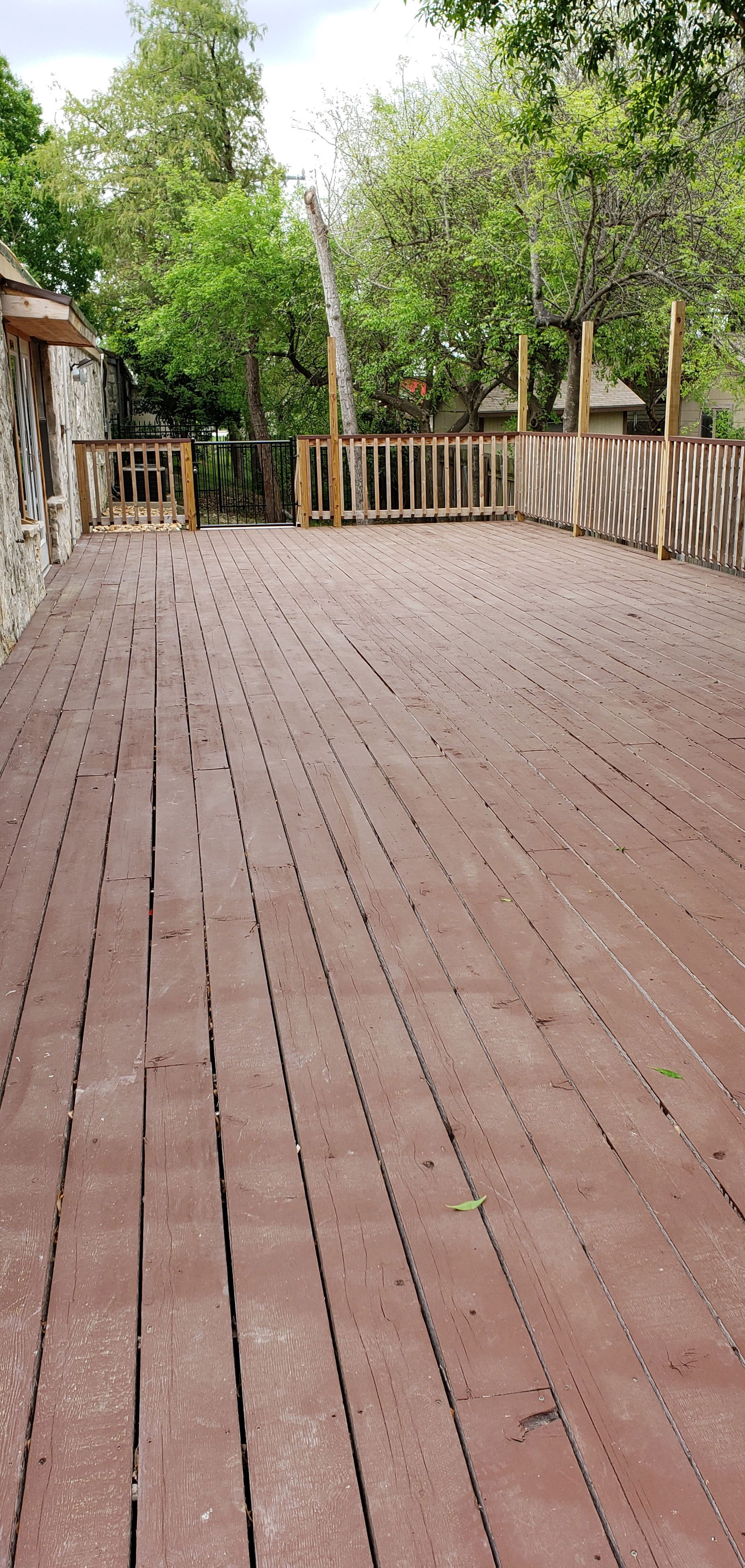 Senior Home Deck