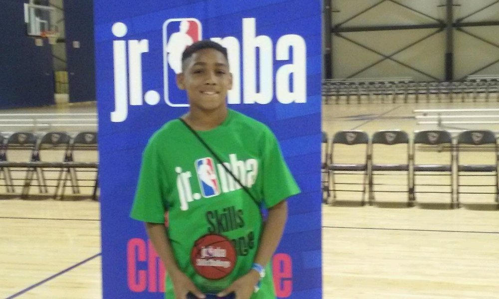 Daysen Cosey Ex Camp of Champions 4th Grade, won the Southeastern Region JrNBA competition. The NBA is sponsoring him to the 2018 NBA Draft in New York in June for the final competition.