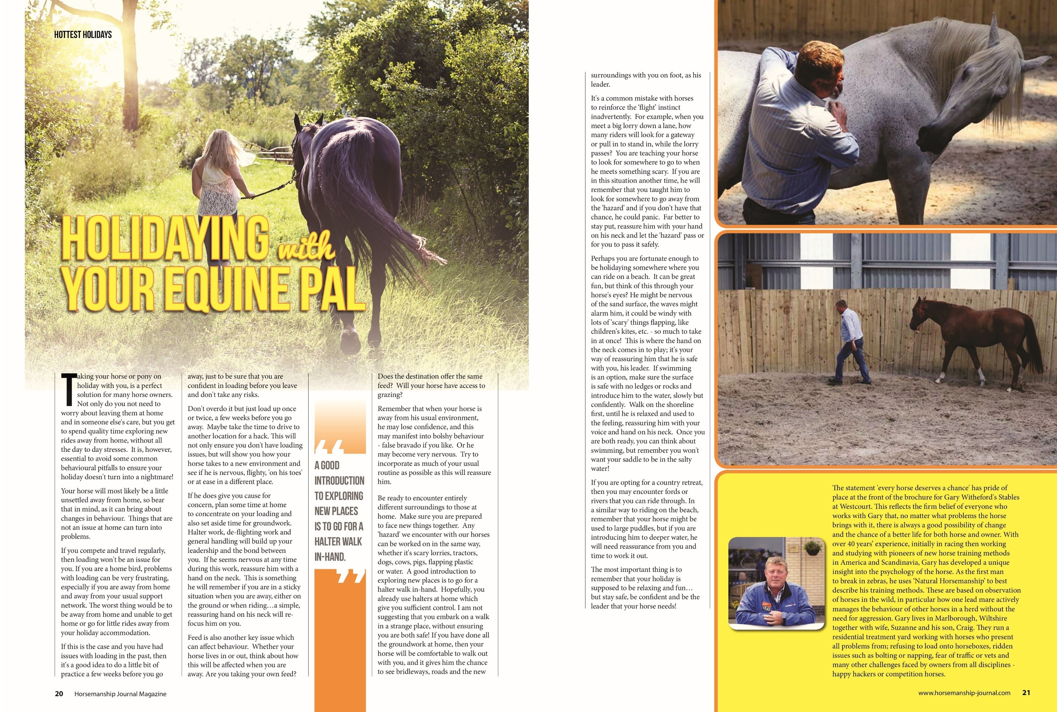 April 2018 - Horsemanship Journal