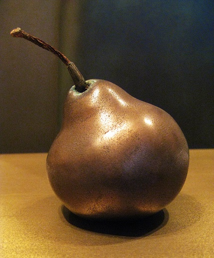 Thermal metal finishes - pear bronzed encased.