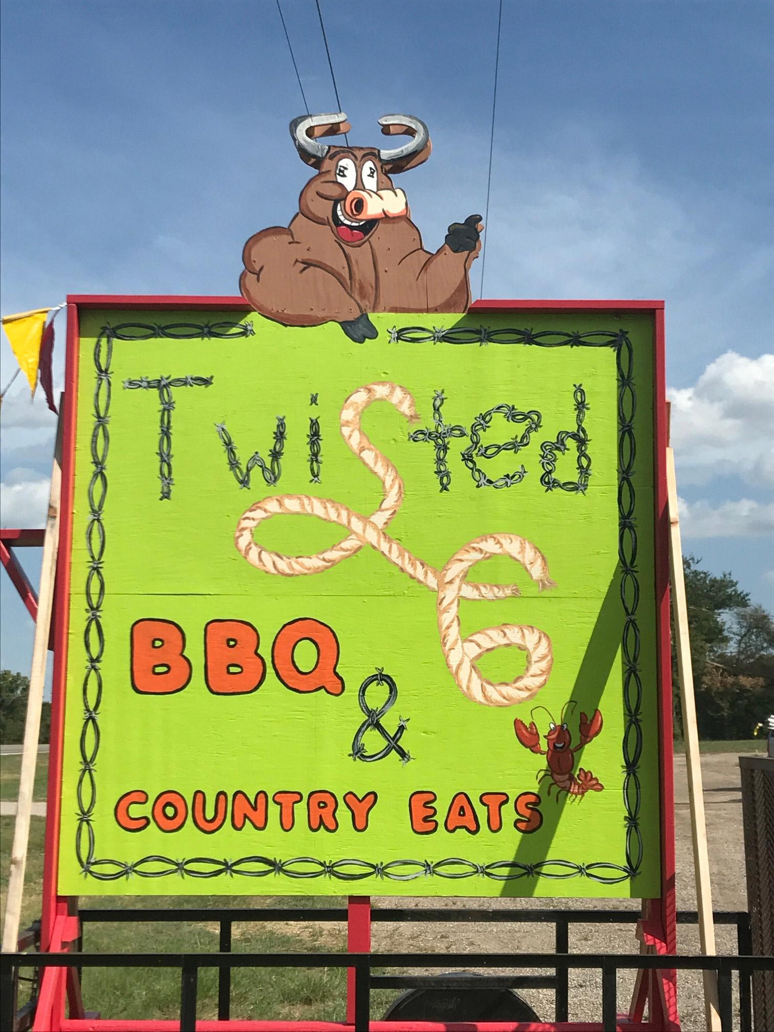 Cajun Restaurant Sign