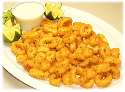 Calamari Dish