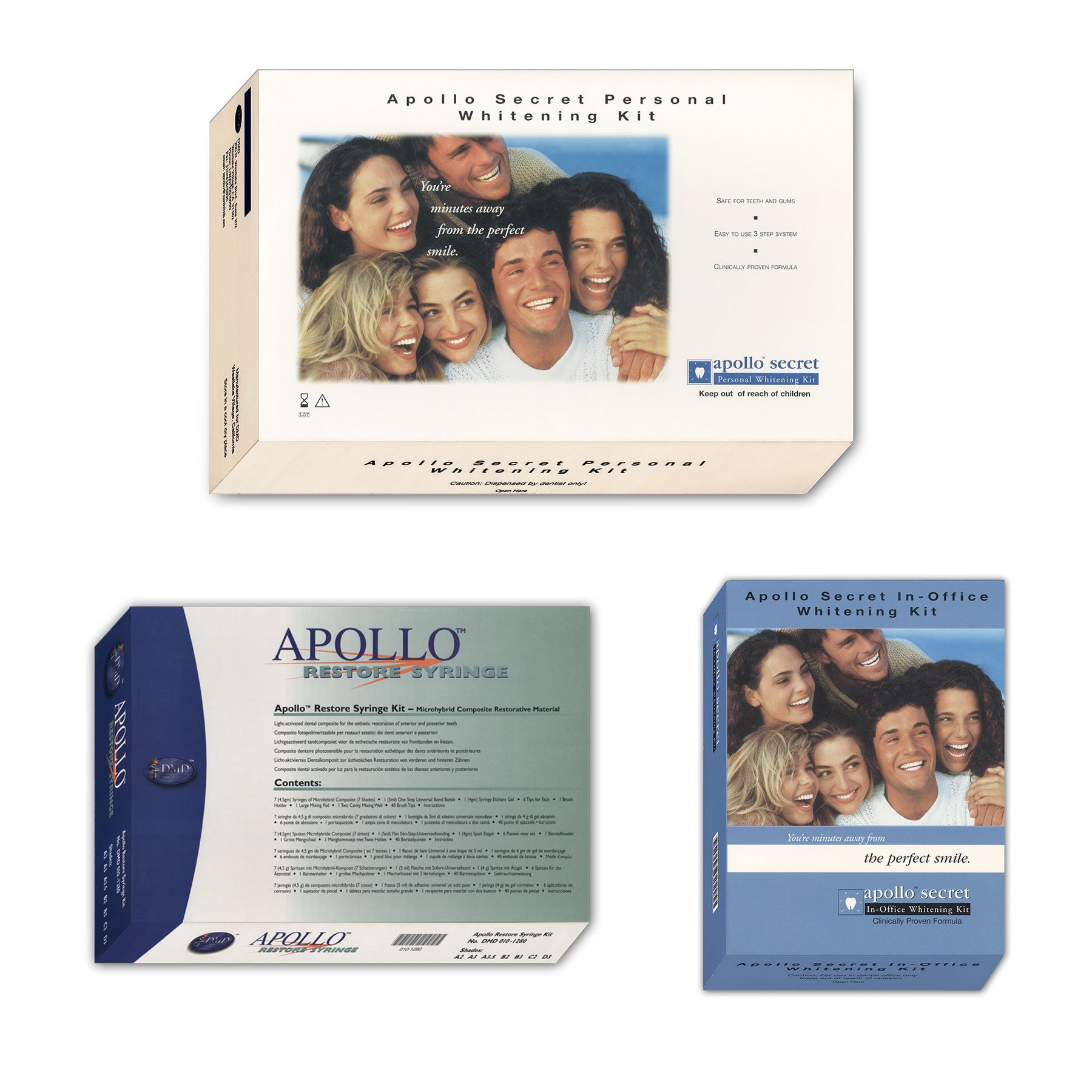 DMD Apollo Dental Product Packaging