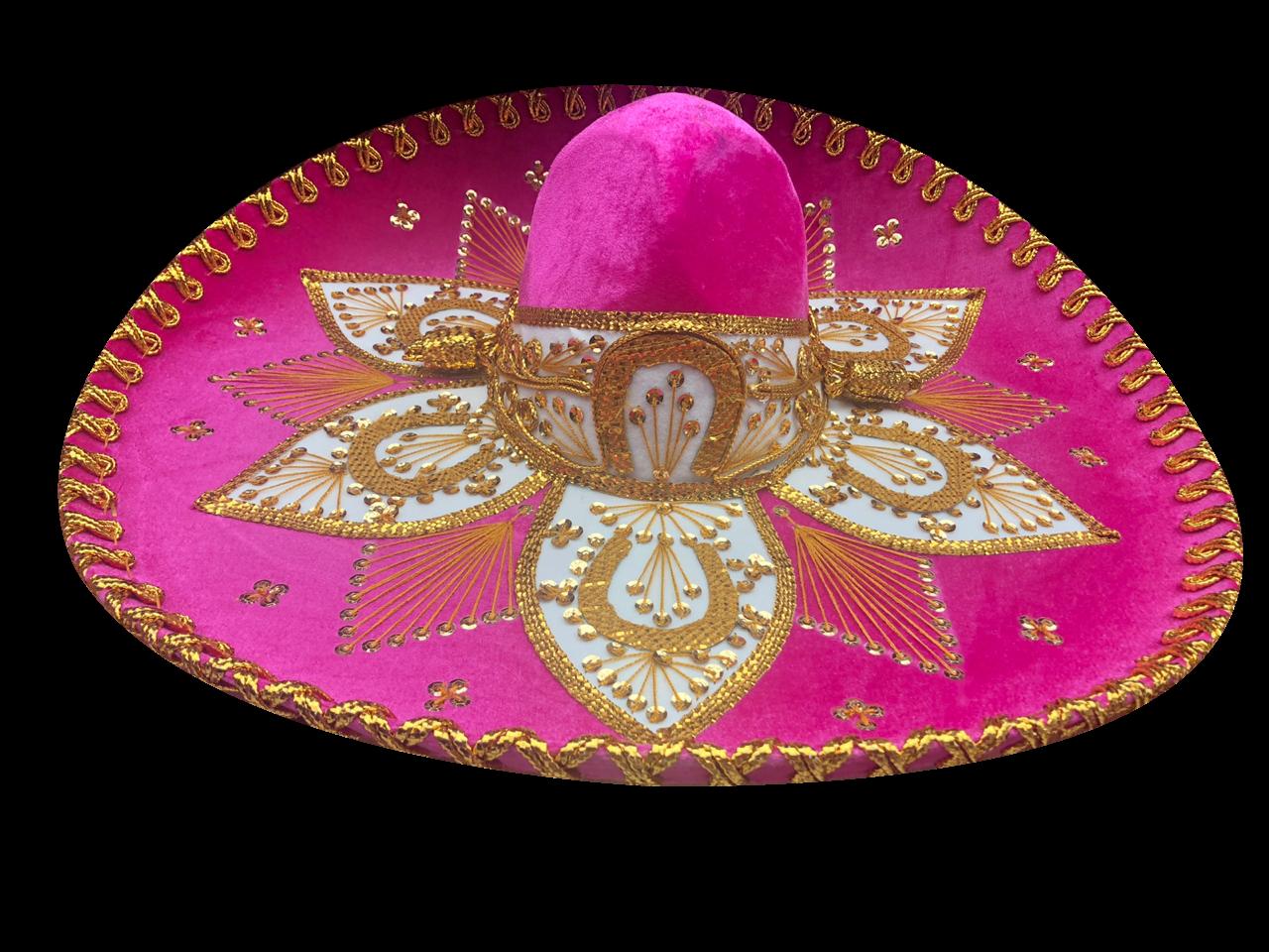 FLOR #20 ROSA MEXICANO ORO