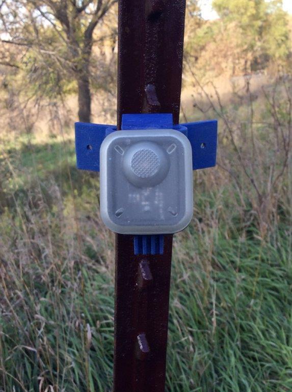 Flashing Fence Monitor