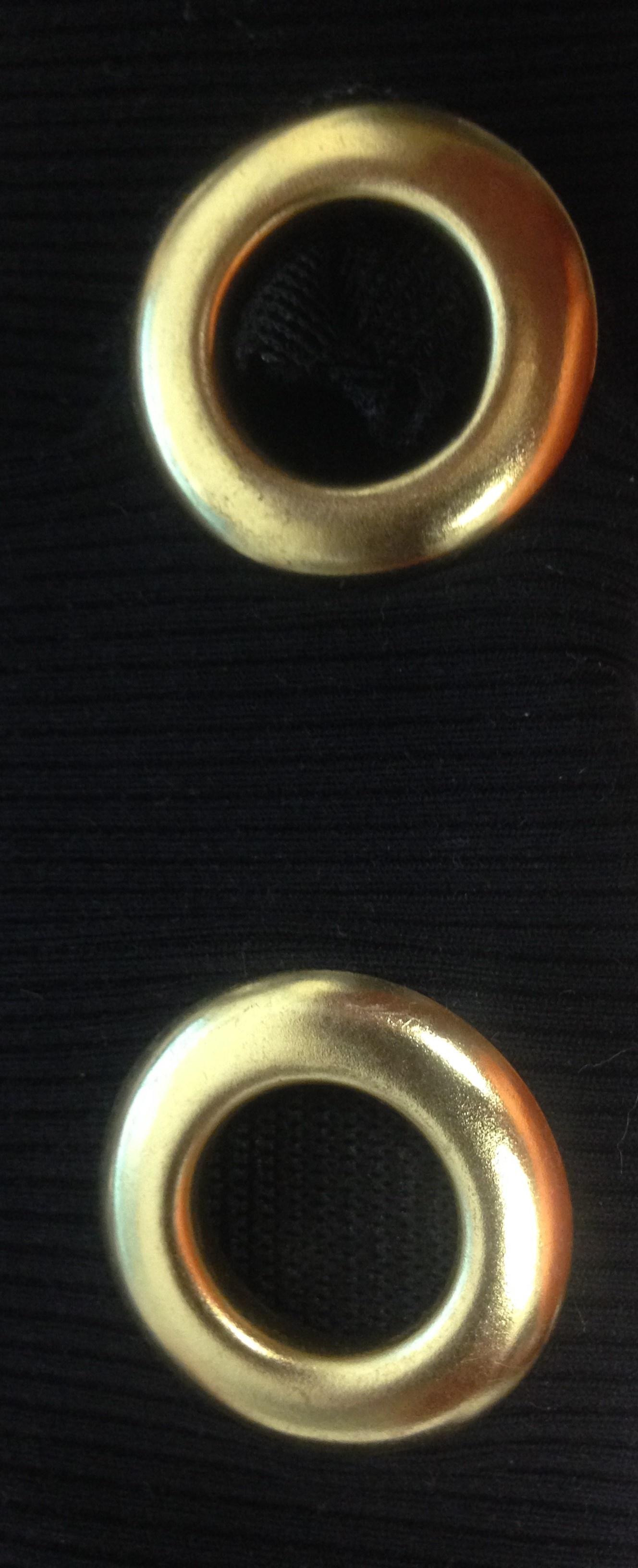 Gold Eyelets