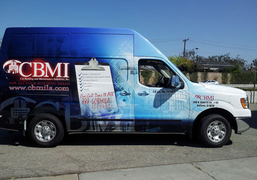 CBMI Vehicle Wrap