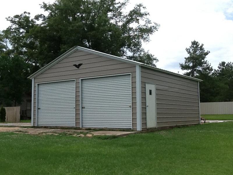 Large Two Door Garage