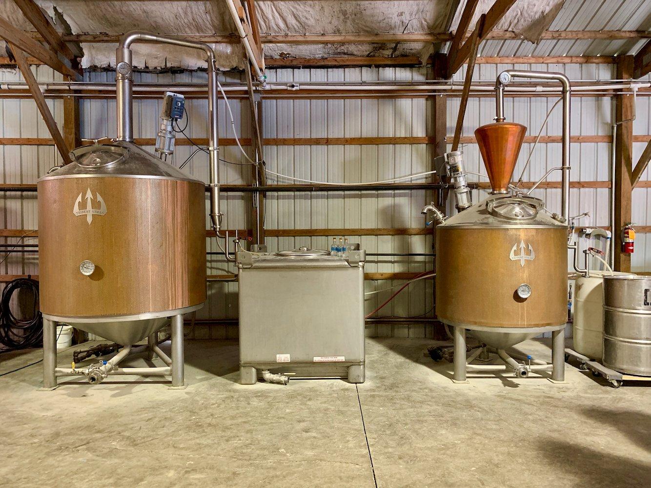 MB Roland Distillery Stills
