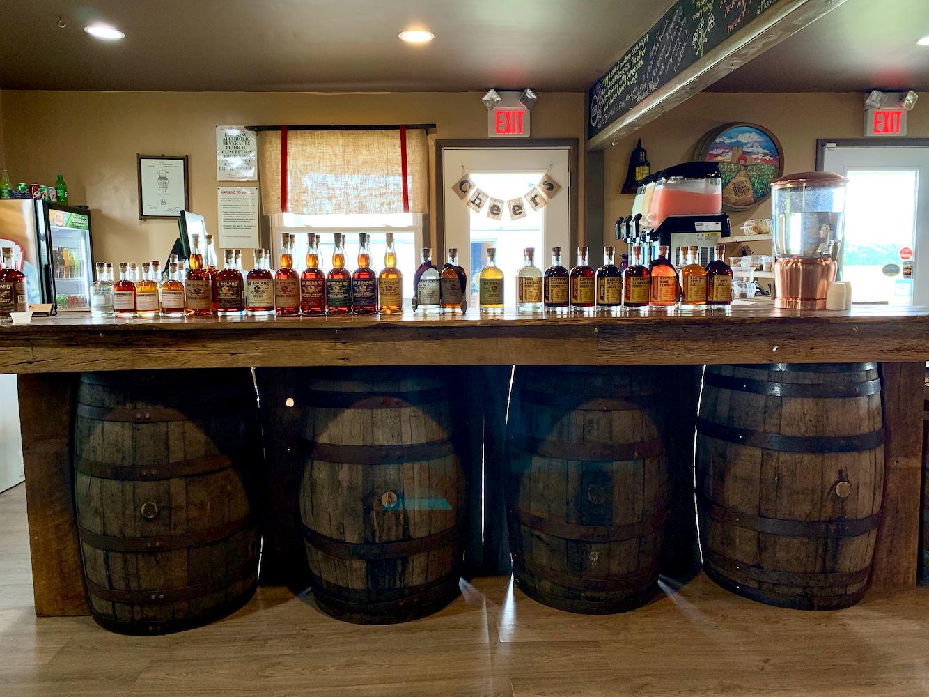 MB Roland Distillery Tasting Bar