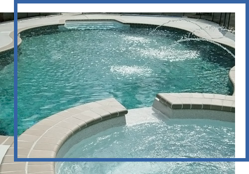 Hot Tub And Swimming Pool