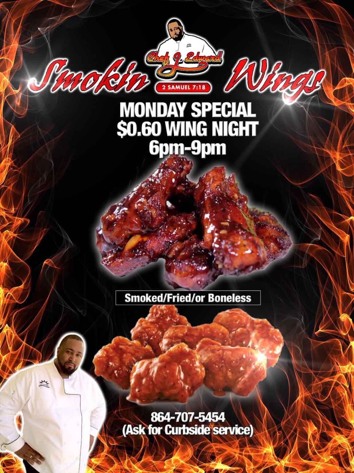 Restaurant Monday Night Special