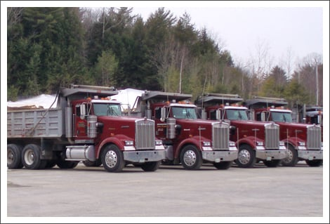 Row of trucks||||