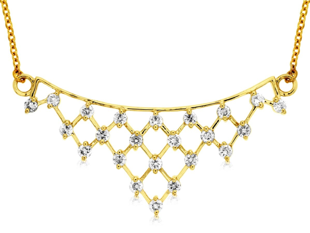 Royal Jewelry Gold Necklace