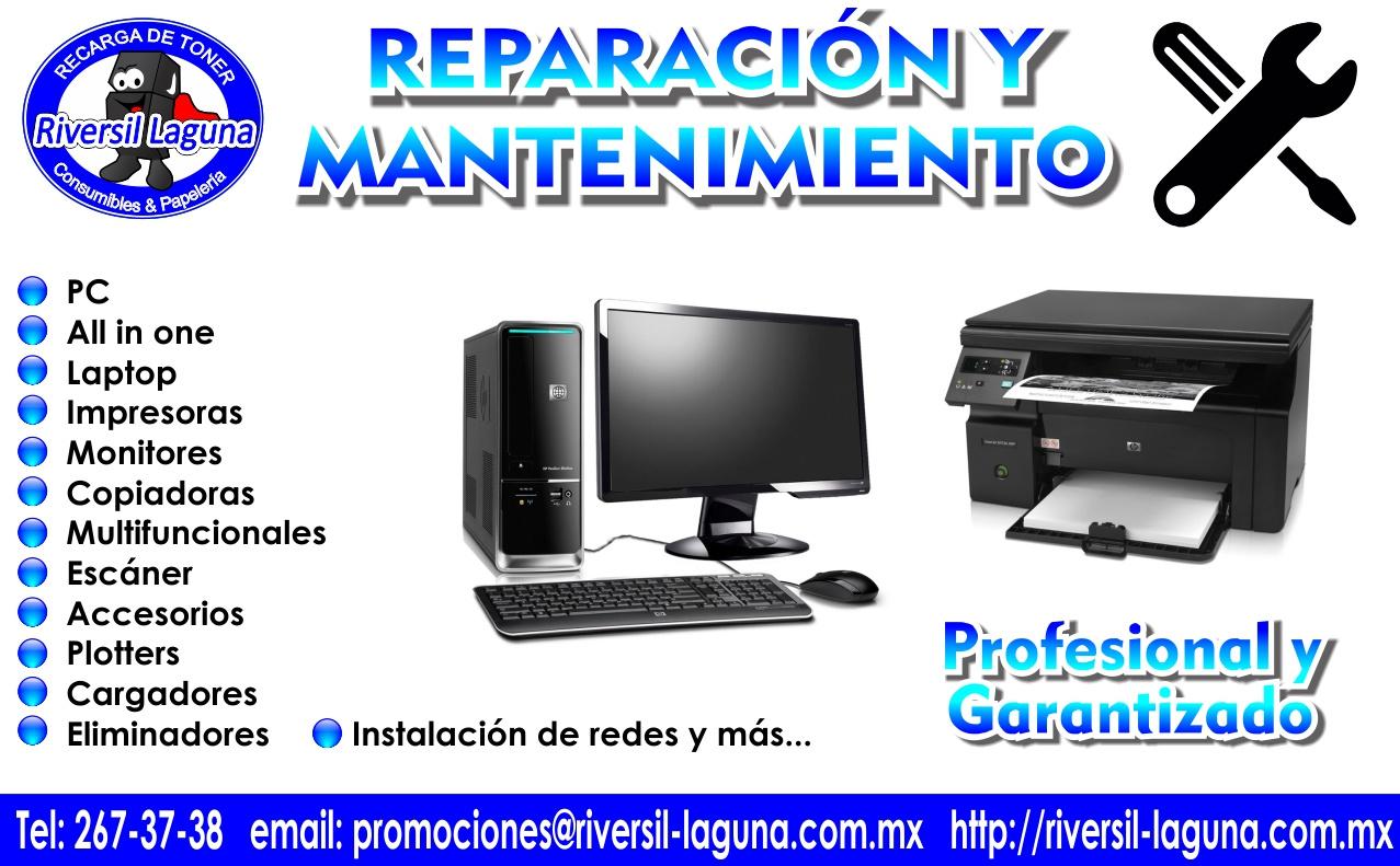 reparacion y mantenimiento profesional de equipo de computo