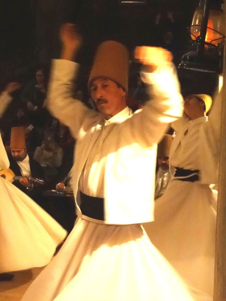 SUFI DERVISH DANCING