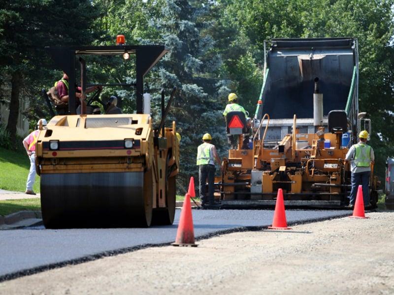 Experienced asphalt professionals