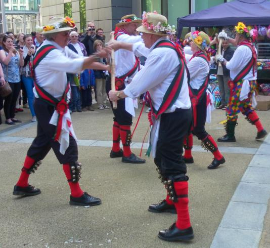 Upton upon Severn stick dance