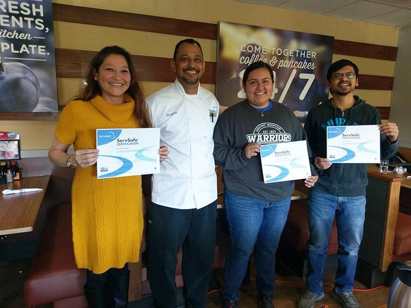 Safe Serve Food Handler Certificate