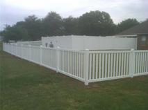 White Wooden Fence 5