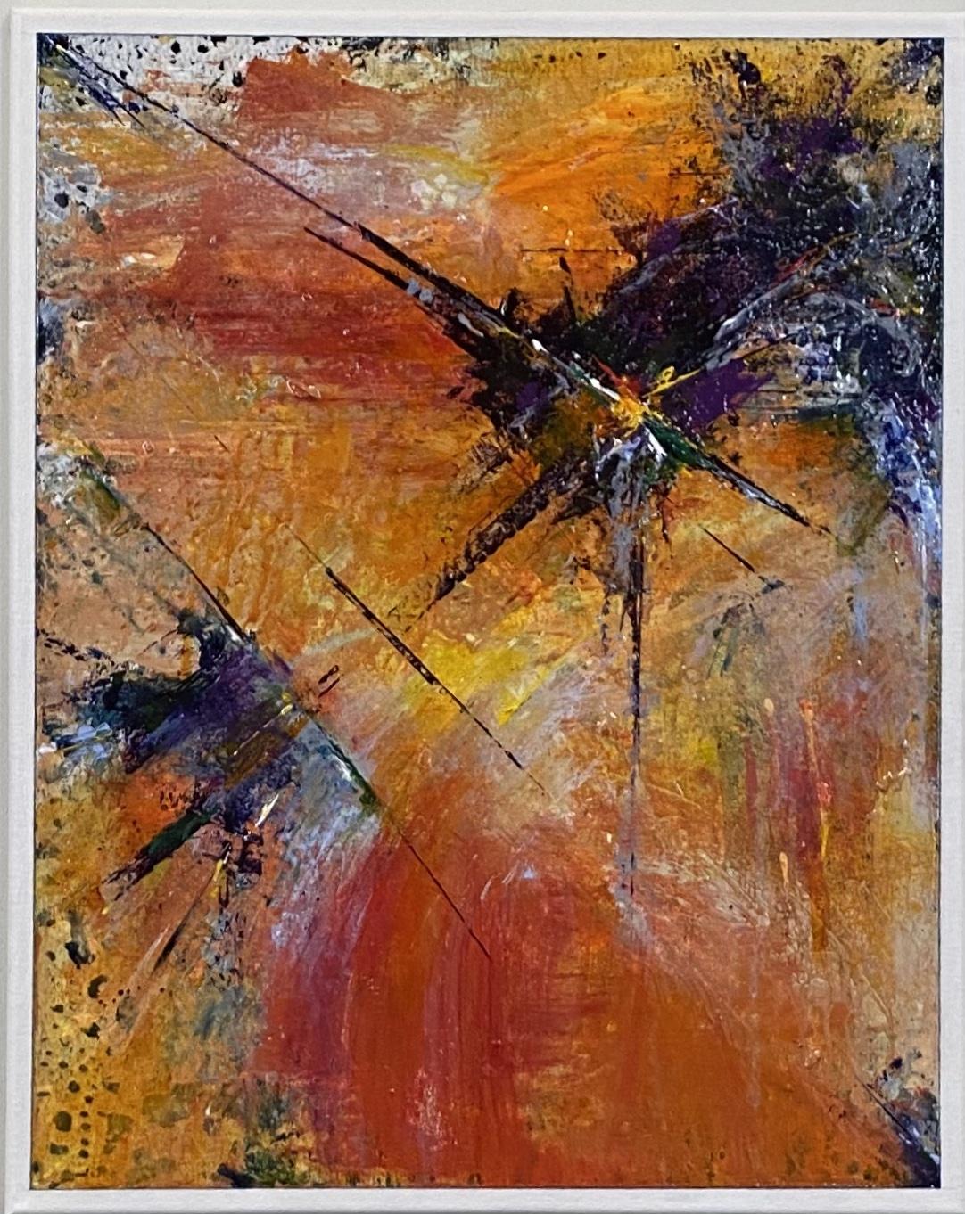"Abstract Acrylic 16""X20"" $165."