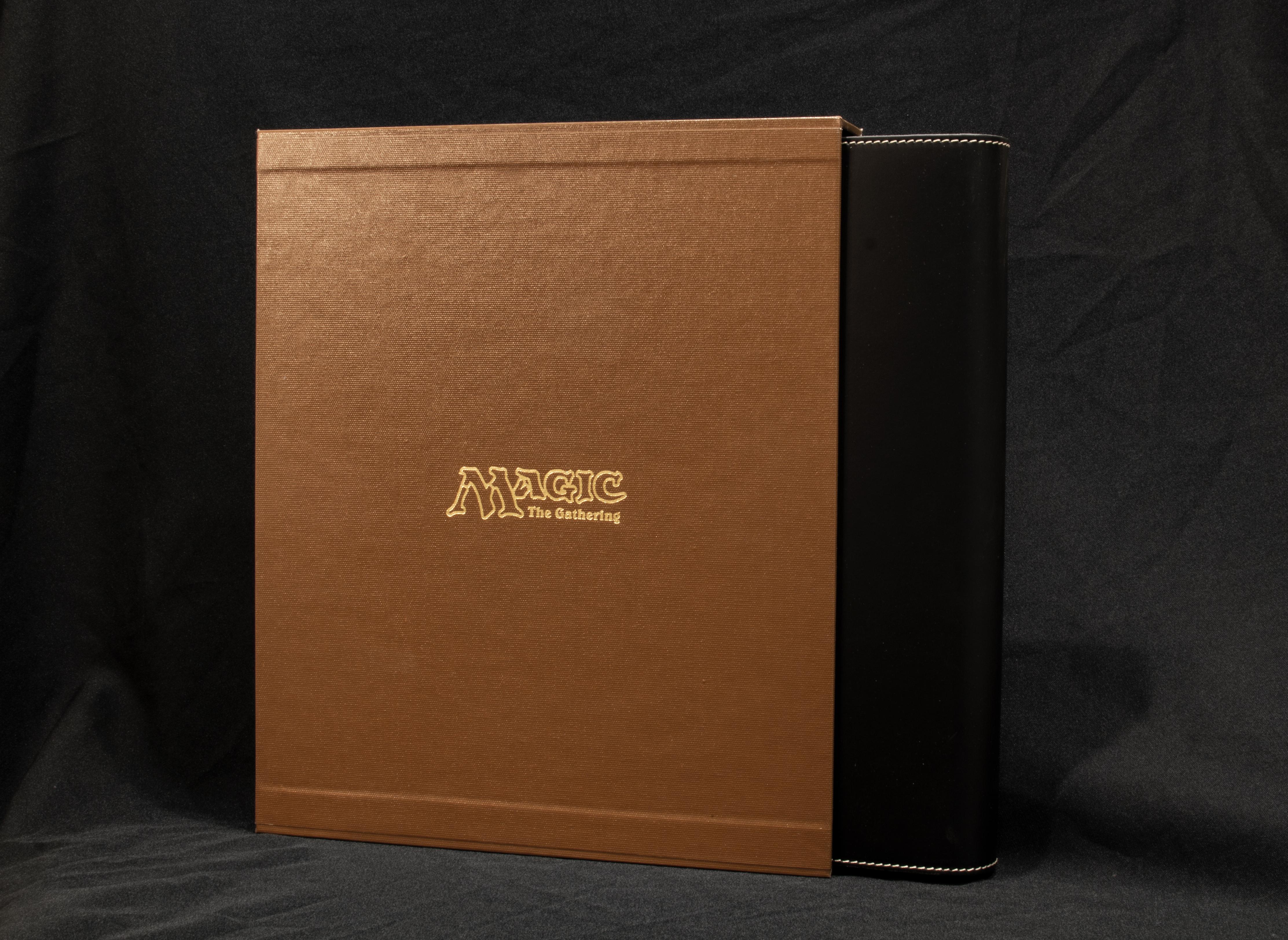 Slipcase and Black option binder