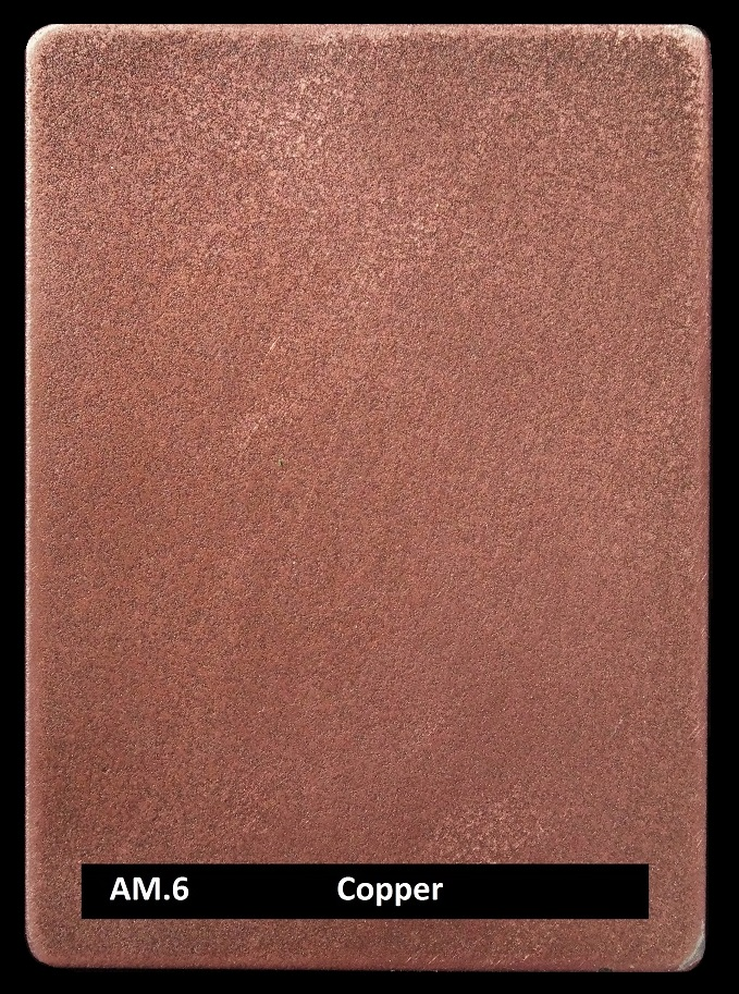 Metal finishes | metal coating veneer AM.6 Copper