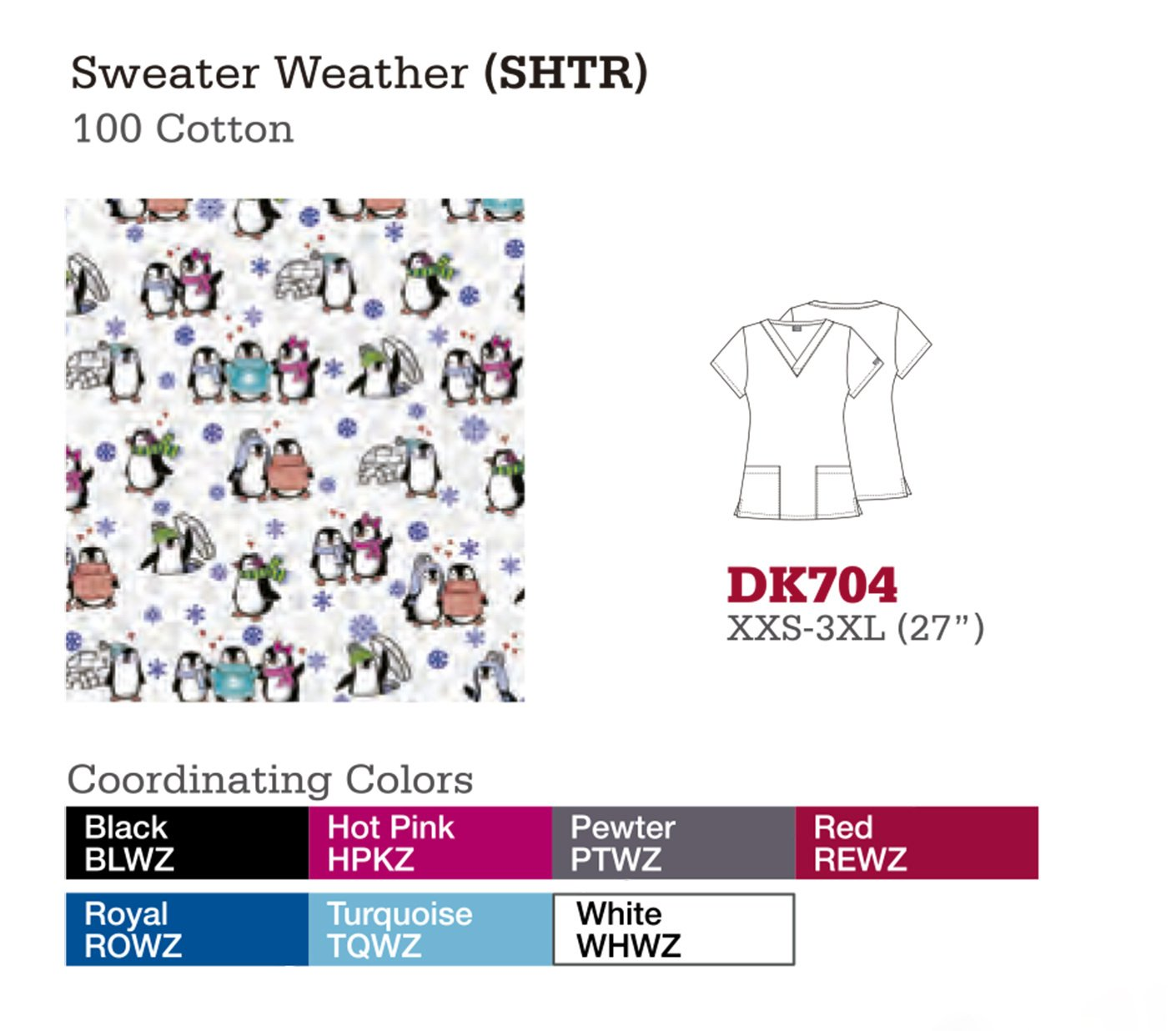 Sweater Wheather. DK704.