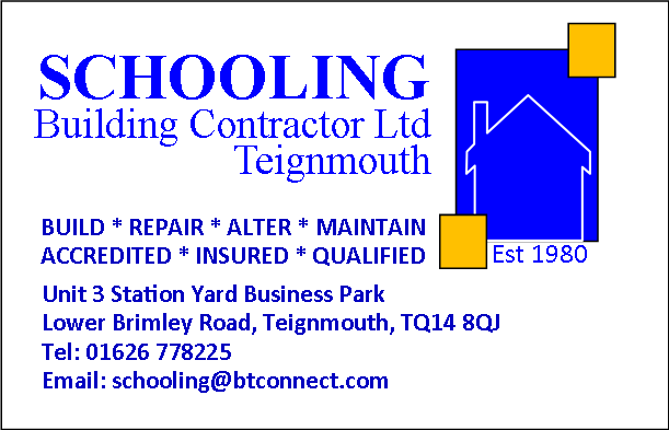 Schooling Building Contractor Ltd, Teignmouth