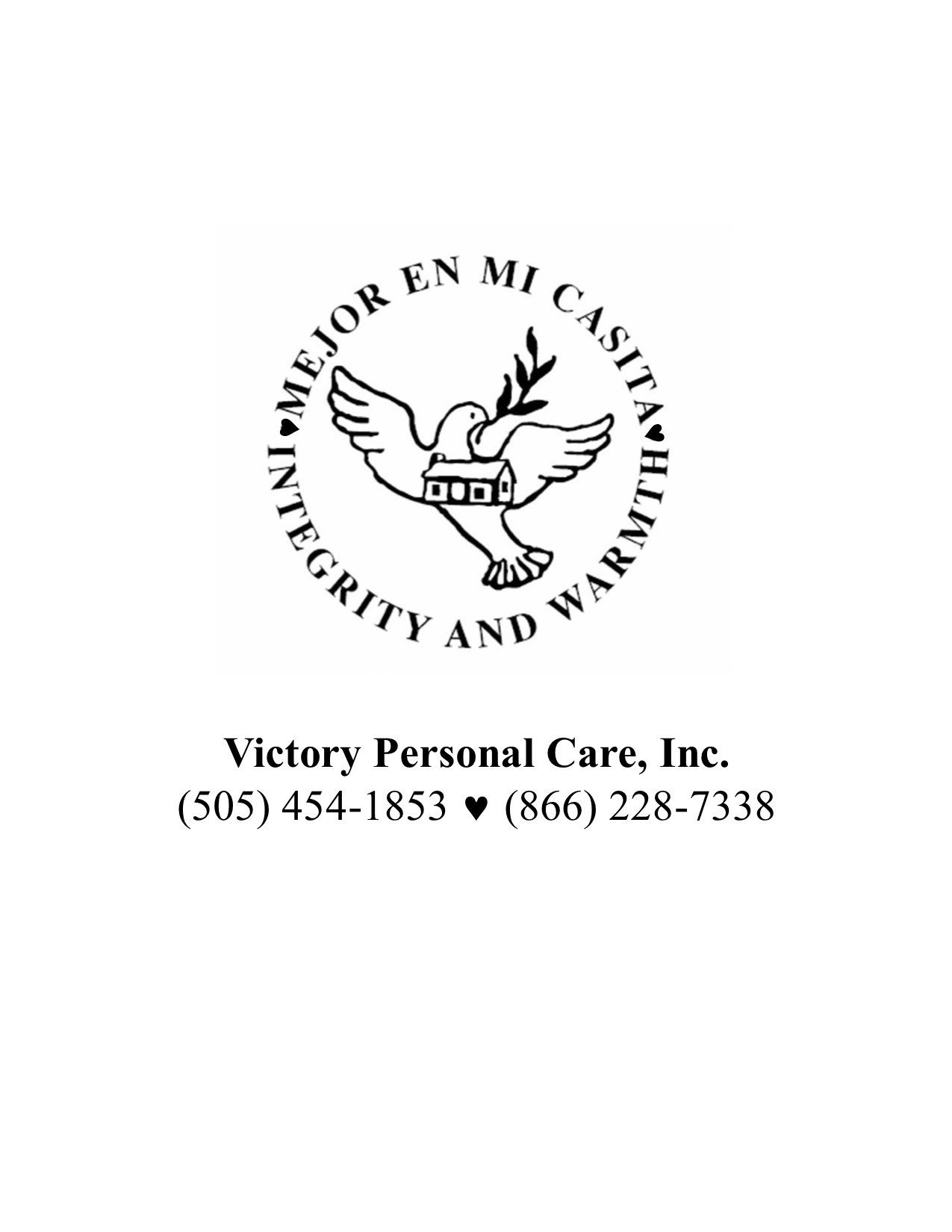 Victory Personal Care, Inc.