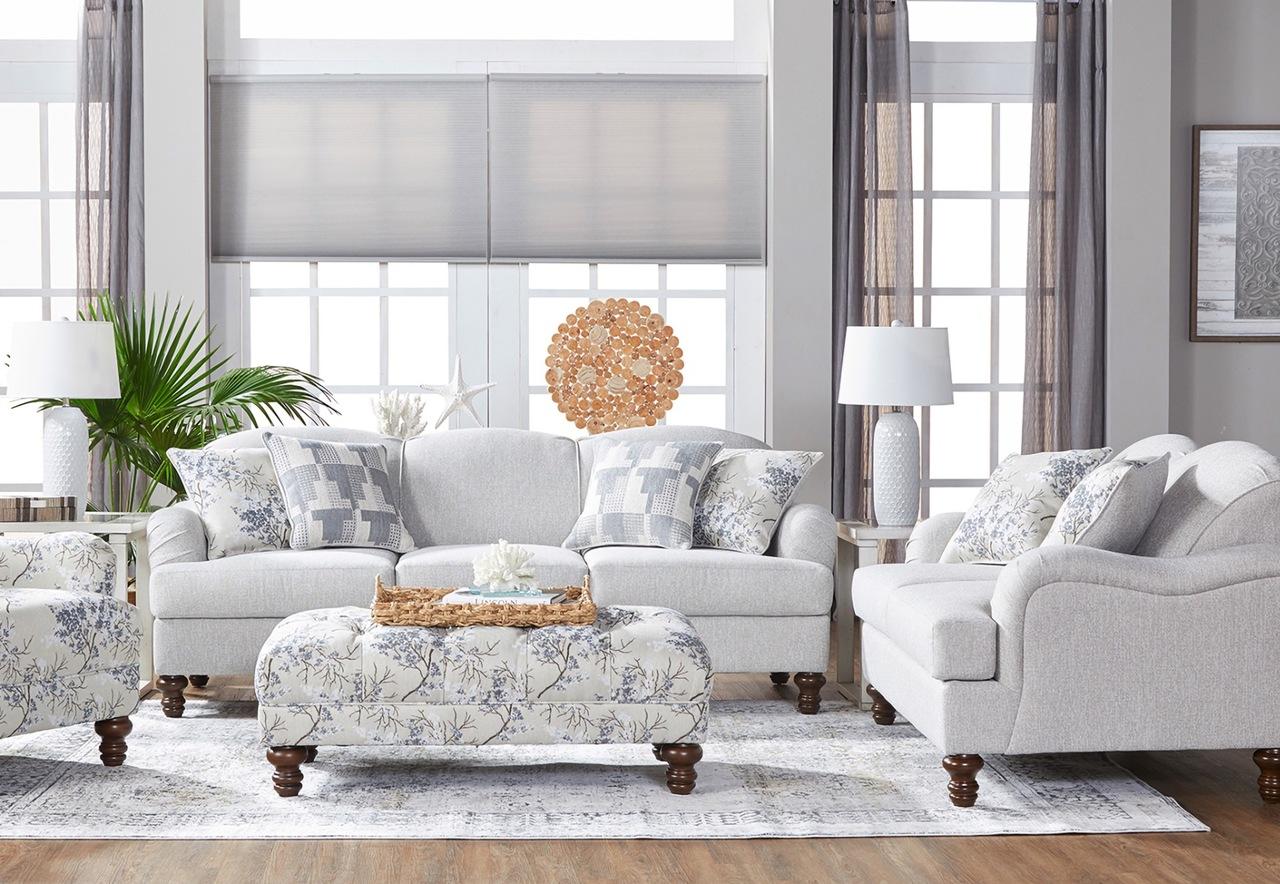12500PEEG Sofa and Love Seat Set