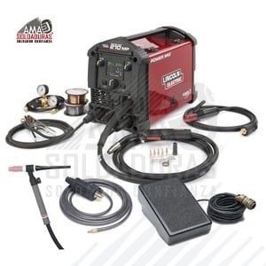 MULTIPROCESOS PAQ. TIG ONE-PAK® Power MIG 210 MP TIG One-Pak K4195-2