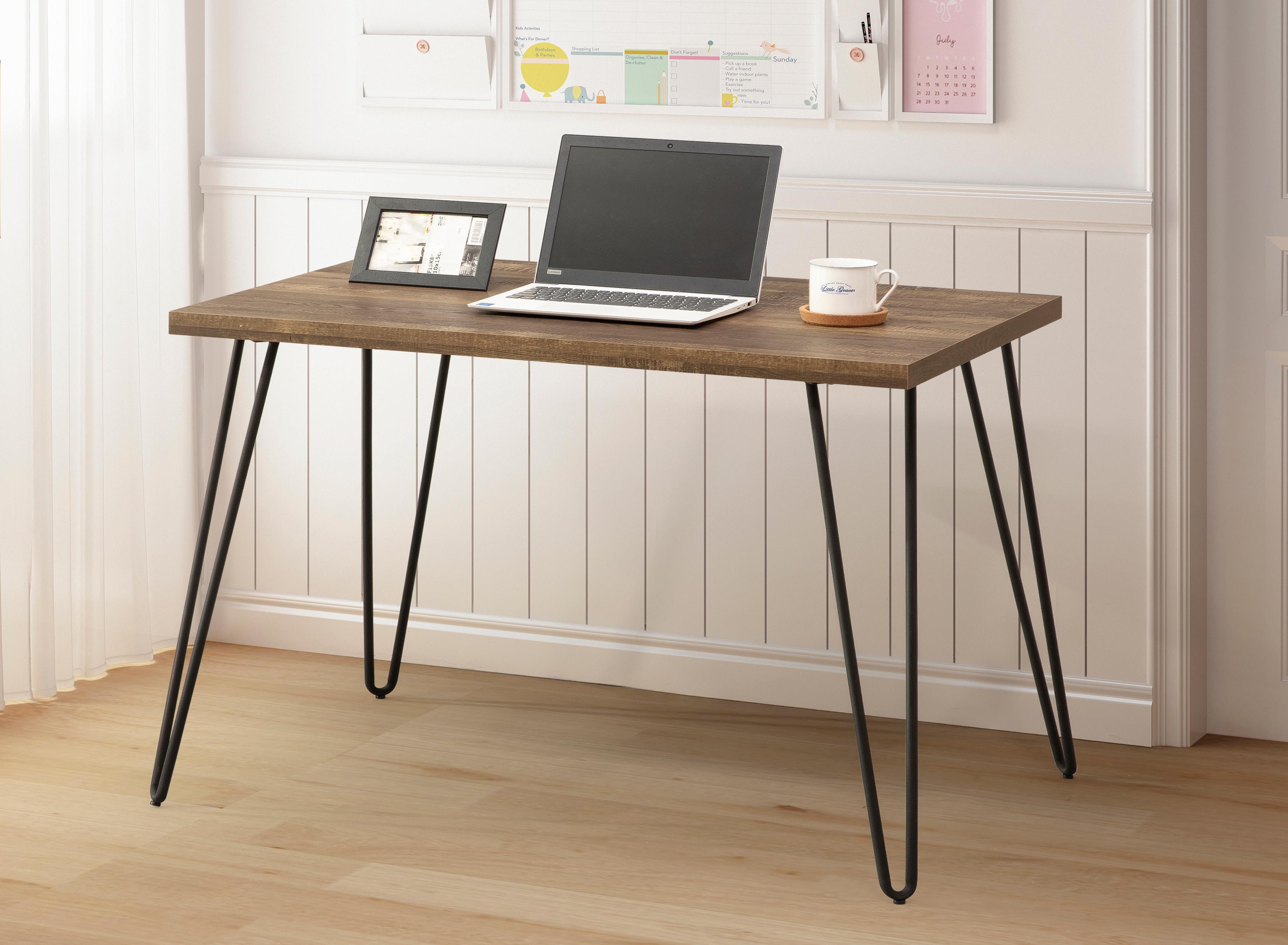 Taupe Oak Desk 404-715