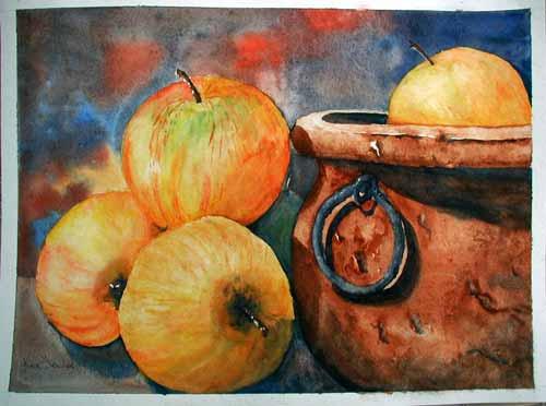 Apples ...... Watercolour