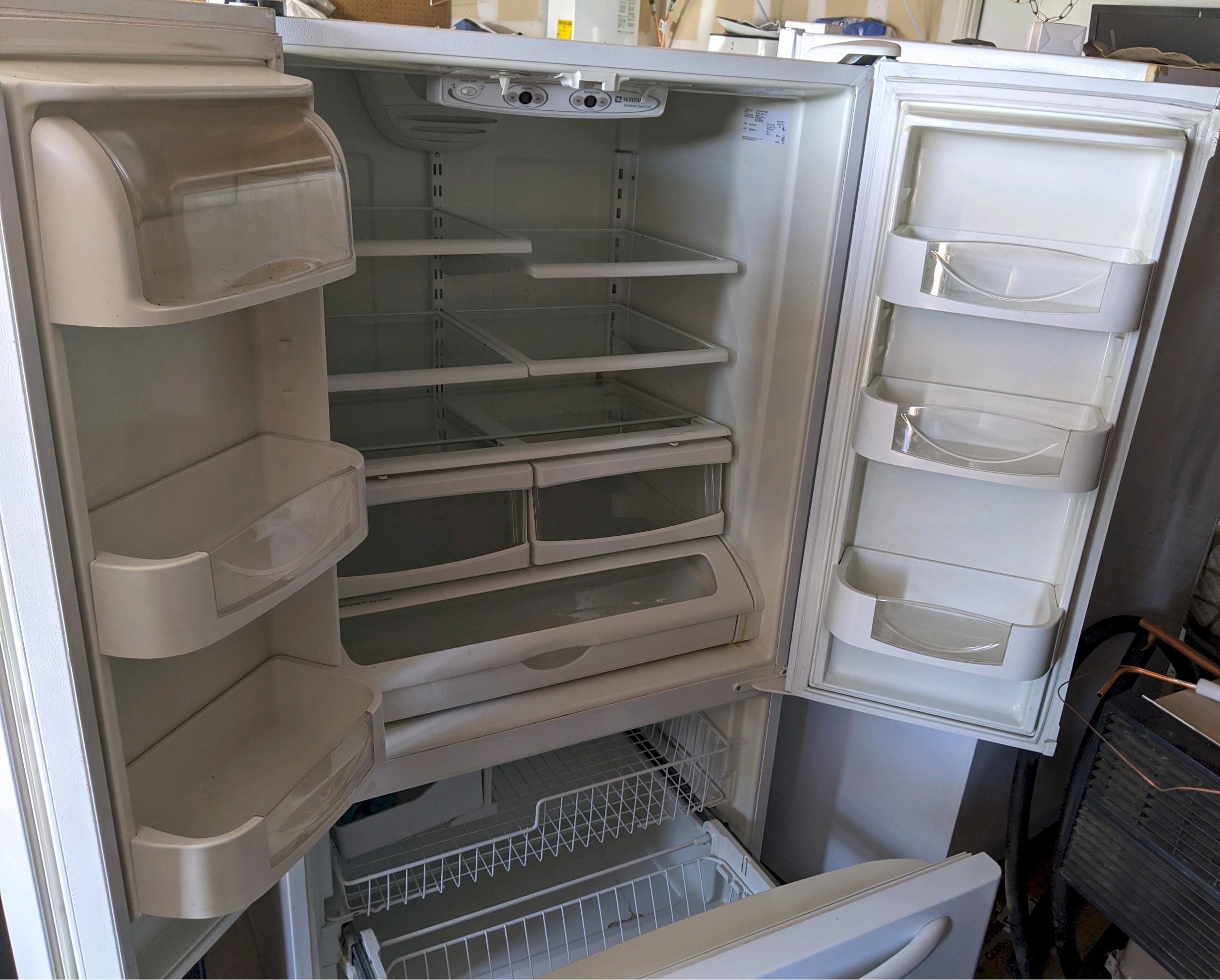 5 White French Door/Bottom Freezer