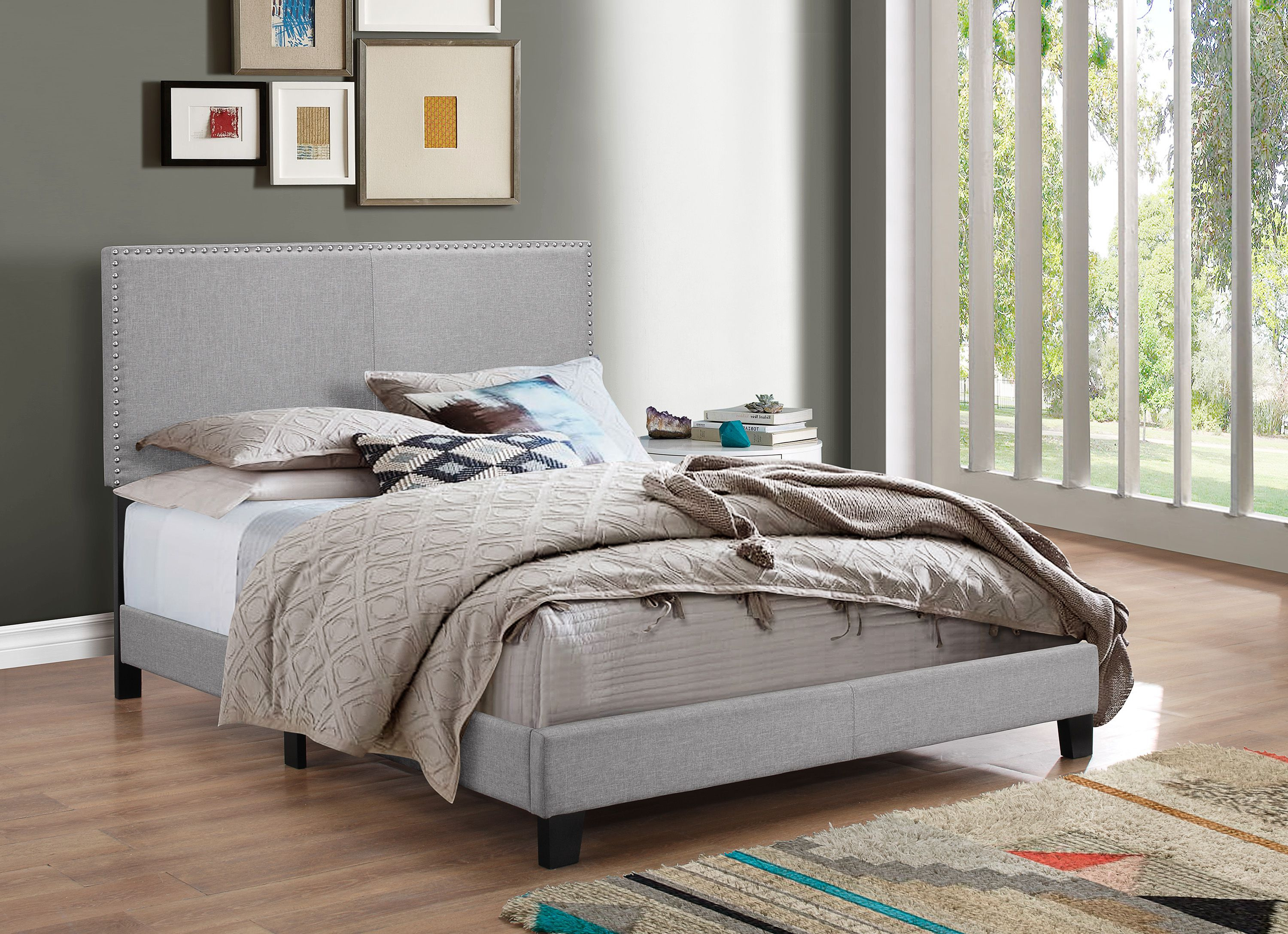 5271GY-NH Erin Bed Grey