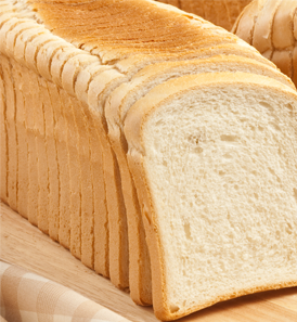 Fresh sliced bread||||