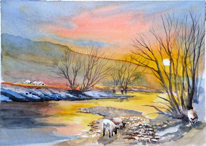 River at Hawes